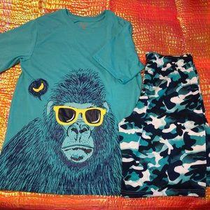 GUC Boys Cat & Jack Pajamas in XL (16)